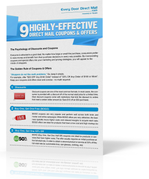 9 Highly-Effective Direct Mail Coupons & Offers